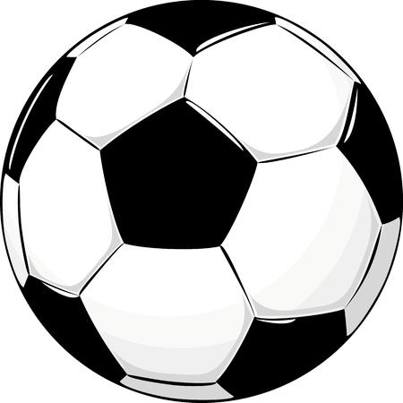 geïsoleerde soccer ball