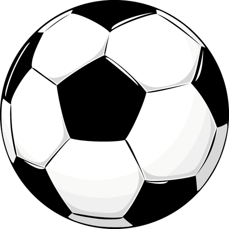 ball: isolated soccer ball
