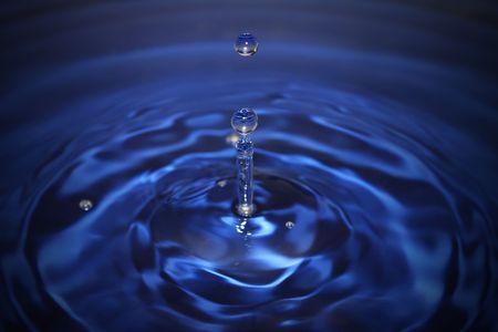 drop of water splashing scene Stock Photo - 5567730