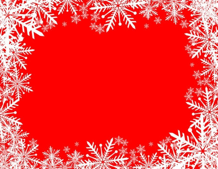 snowflakes background with copy space in vector format very easy to edit Çizim