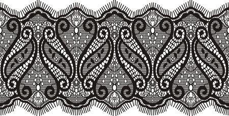 gestickt: Gestickte Spitze Design, einzelne Objekte  Illustration