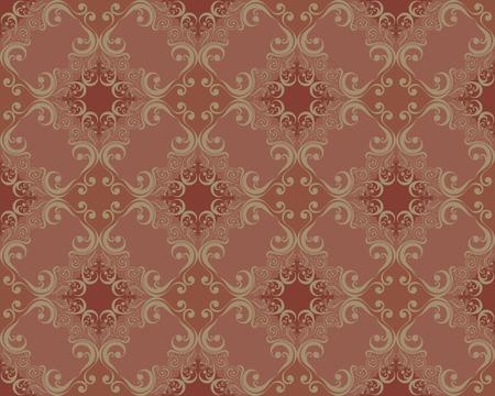 Naadloze: decoratieve ornamenten patroon oude fashion stijl