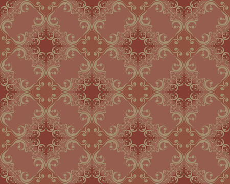 victorian wallpaper: decorative ornaments pattern old fashion style