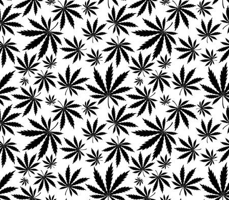 marihuana: patr�n transparente de cannabis