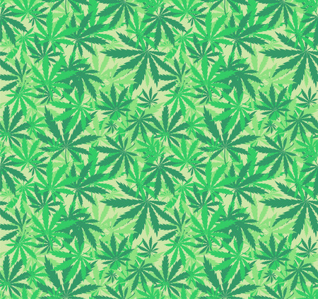 cannabis leaf: cannabis seamless pattern