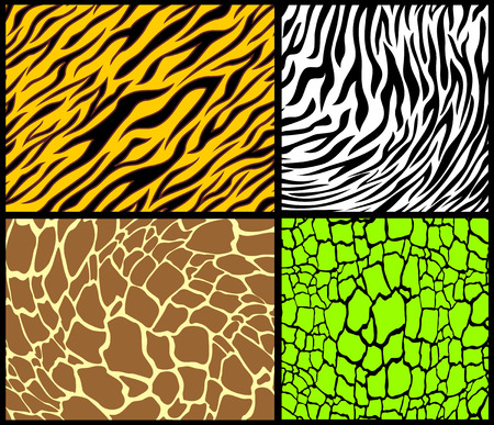 animal print patterns Stock Vector - 8721115