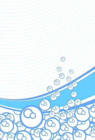 bubbles background Illustration