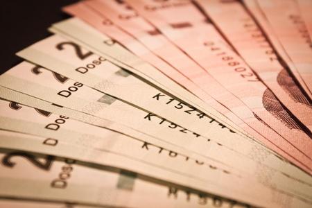 mexican money bills background photo
