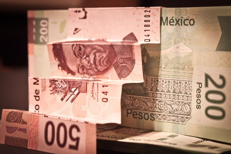 stairs of mexican bills photo