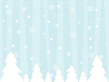 크리스마스 디자인에 사용할 겨울 배경의 벡터 이미지