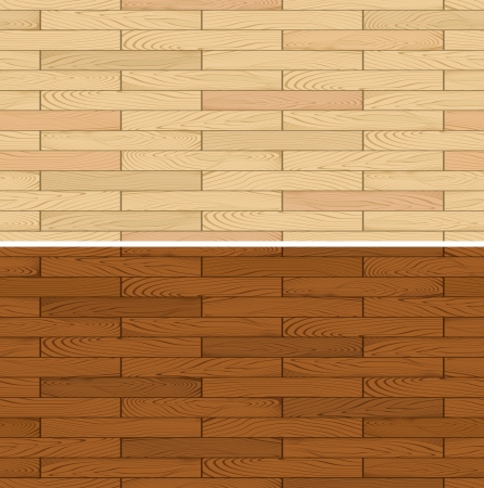 seamless illustration of wooden floor flooring panel texture, place one of this designs side-by-side to create an endless pattern Vector