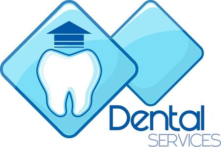 歯科抽出サービス デザイン、ベクトル形式の非常に簡単に編集、個々 のオブジェクト、グラデーションと、唯一の固体の色は、私が作成したカスタ