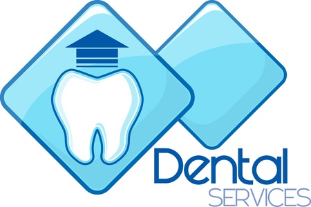 dental extraction services design, vector format very easy to edit, individual objects, no gradients, only solid colors, custom typography created by me Vector