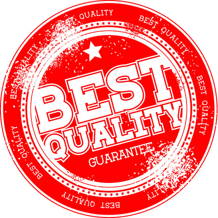 best quality guarantee grunge stamp isolated on white background Stock Vector - 22568194