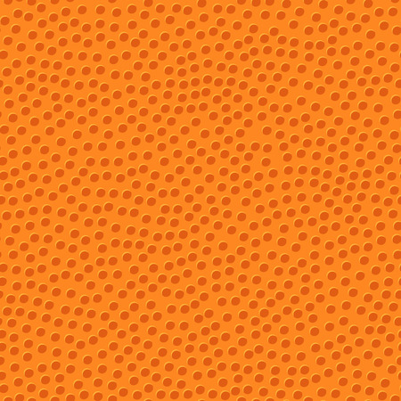 bumps: basketball orange ball texture with bumps seamless pattern Illustration