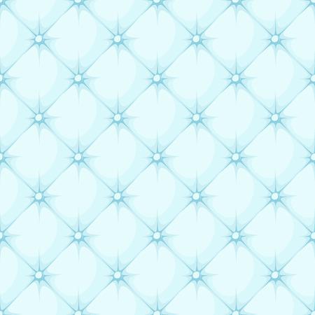 rhomb: blue padded upholstery buttoned rhomb seamless pattern