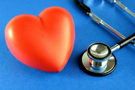 Medical and heart health Stock Photo