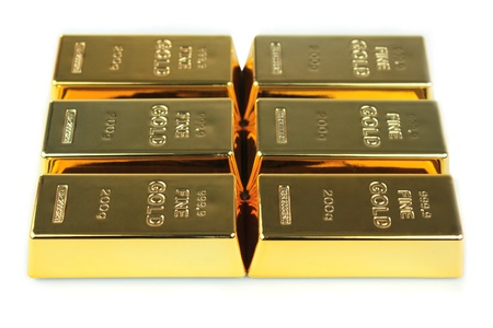 Gold bars photo