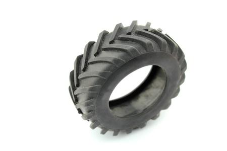 Tractor wheel photo