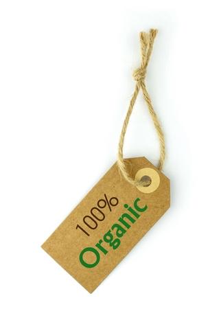 100% Organic photo