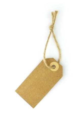 productos naturales: Etiqueta de papel Natural - vertical - Foto de archivo