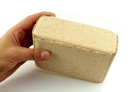 exalt: Wood briquet