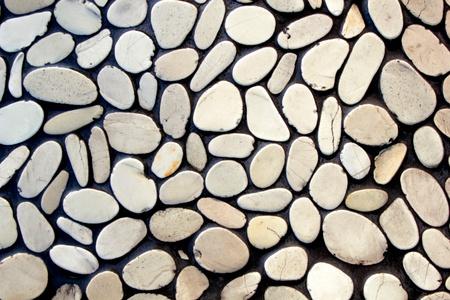 edad de piedra: Muro de piedra de fondo Foto de archivo