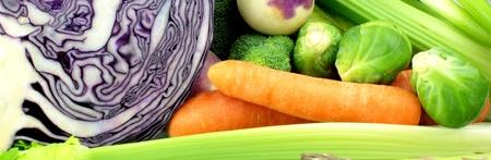 Vegetable banner photo