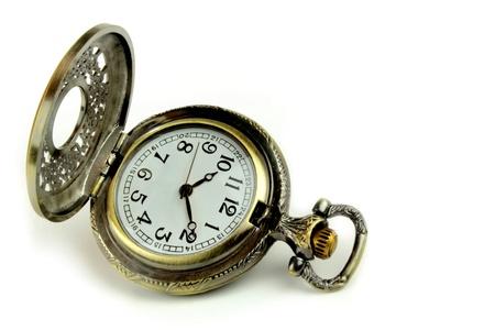 Old antique pocket watch photo