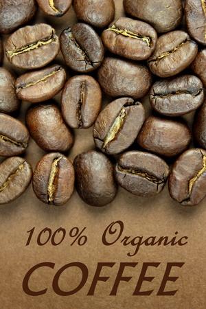 100  Organic coffee photo