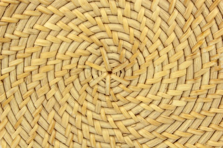 woven: Woven basket Stock Photo