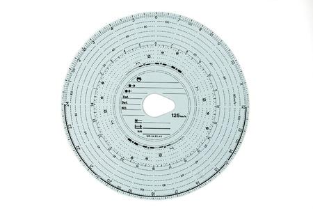 Analogue Tachograph card