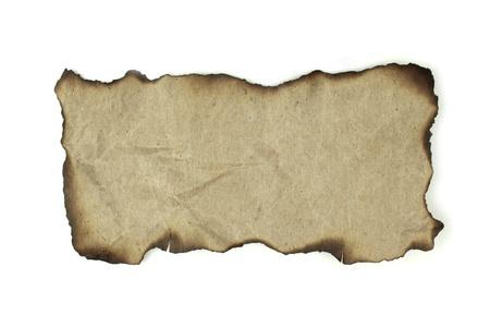 papier naturel: Burnt papier naturel pour le fond