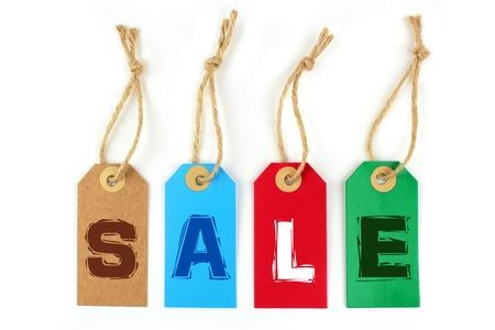 shoppings: Color sale labels