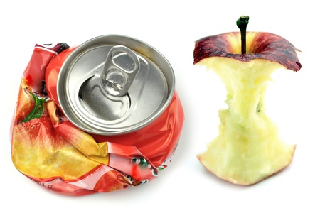 apple core: Garbage