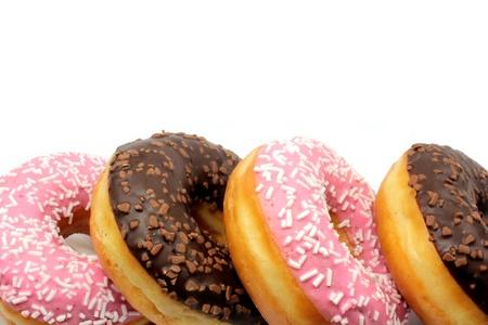 Deliciosos donuts Foto de archivo