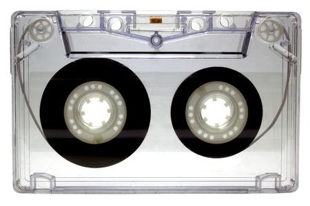 Audio cassette isolated on white background Stock Photo - 13638368