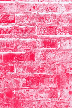 Red brick wall textute background