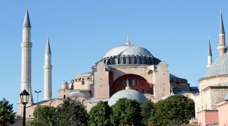 turkiye: Famous Hagia Sophia mosque ( istanbul, Turkiye ). outdoor
