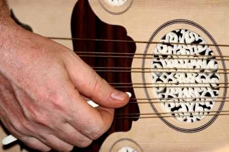 Lute. Turkish and Arabic musical instrument Stock Photo - 15108950