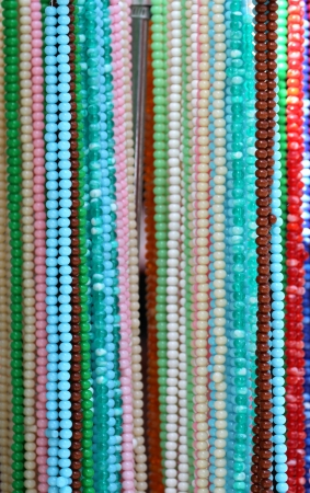 rosary beads: Colorful rosary beads  in a Turkish bazaar