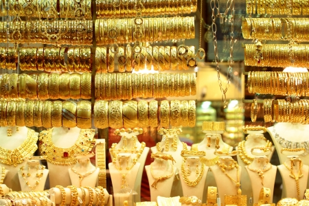 Turkish jewelery shop Stock Photo - 15108969
