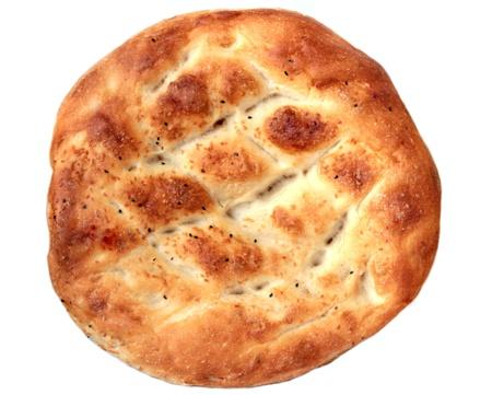 Turkish pita bread. Ramadan pita
