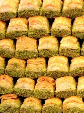 Turkish baklava photo