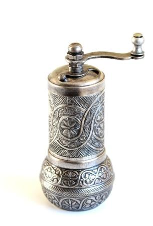 pepper grinder: Turkish ottoman style coffee grinder