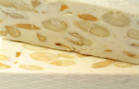 Delicious French nougat  photo