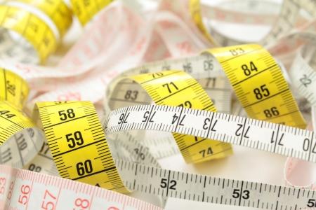 cinta de medir: Cinta métrica Various como fondo