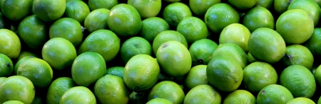 Lime fruits background photo