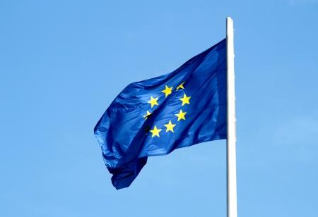 euro area: European union flag Stock Photo
