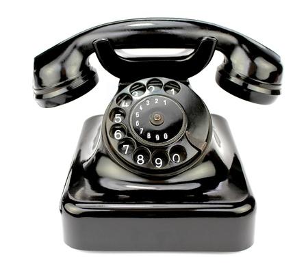 ロータリーの古い携帯電話。アイコンに問い合わせてください。